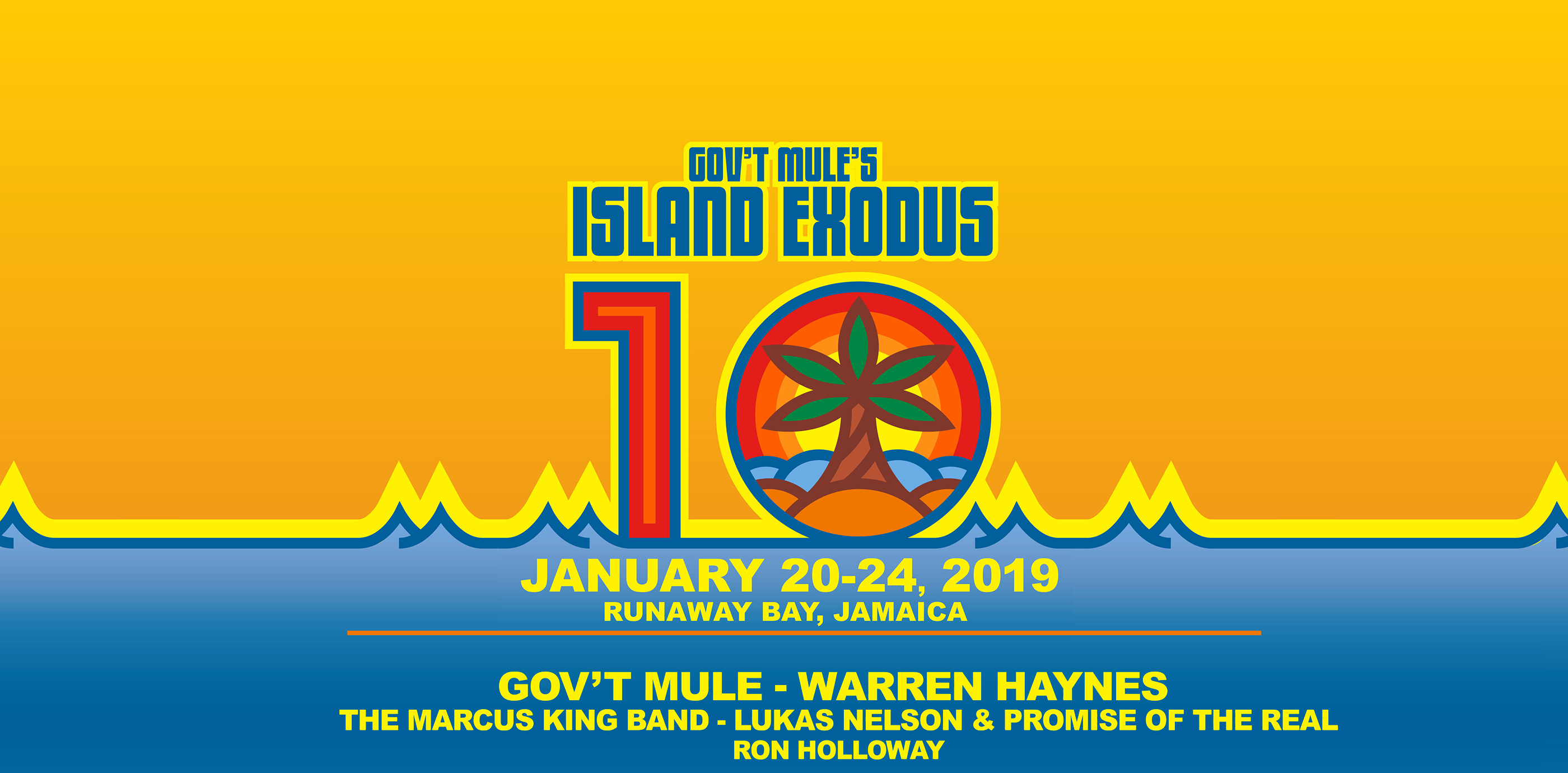 Island Exodus 10 SOLD OUT!