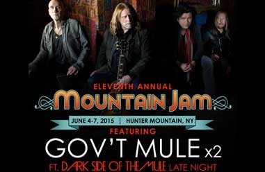 Gov't Mule to Perform Two Sets at Mountain Jam
