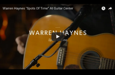 Warren Haynes Performs 'Spots of Time' Acoustic