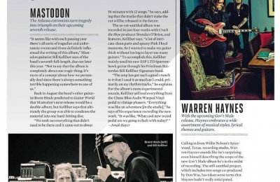 Warren Talks New Mule In Guitar World
