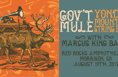 Gov't Mule and Yonder Mountain String Band at Red Rocks August 19
