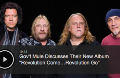 Gov't Mule Perform on AOL Build