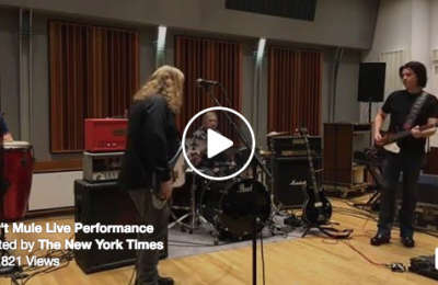 Gov't Mule Perform Live with The New York Times