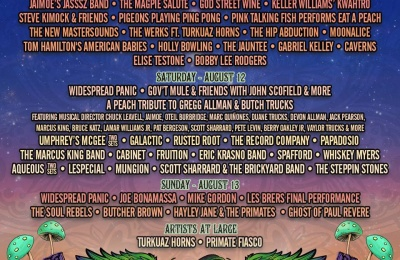Win A Pair of Passes to Peach Fest