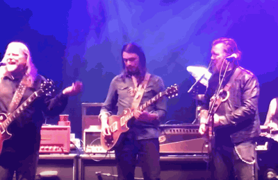 "Devon Allman, Duane Betts, Peter Levin Join Gov't Mule For ""Statesboro Blues"""
