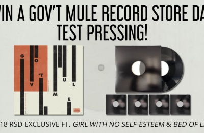 Win A Record Store Day Test Pressing