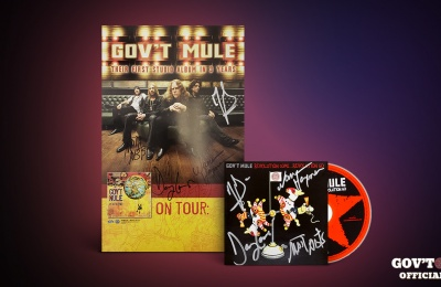 Enter To Win This Gov't Mule Autograph Bundle!