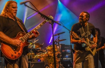 Gov't Mule Welcomes Eric Gales At Florida Jam