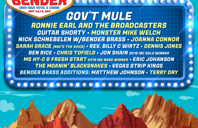 Big Blues Bender Adds Gov't Mule & More To 2019 Lineup