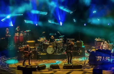 Gov't Mule Welcomes Deitch Family, Celebrates Woodstock Anniversary In Return To Red Rocks